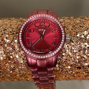 Guess Mini Pink Aluminum Watch